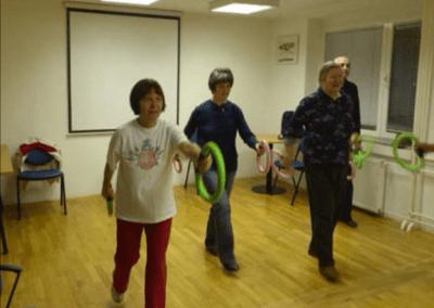 Telovadba za smeh in gibanje – smovey