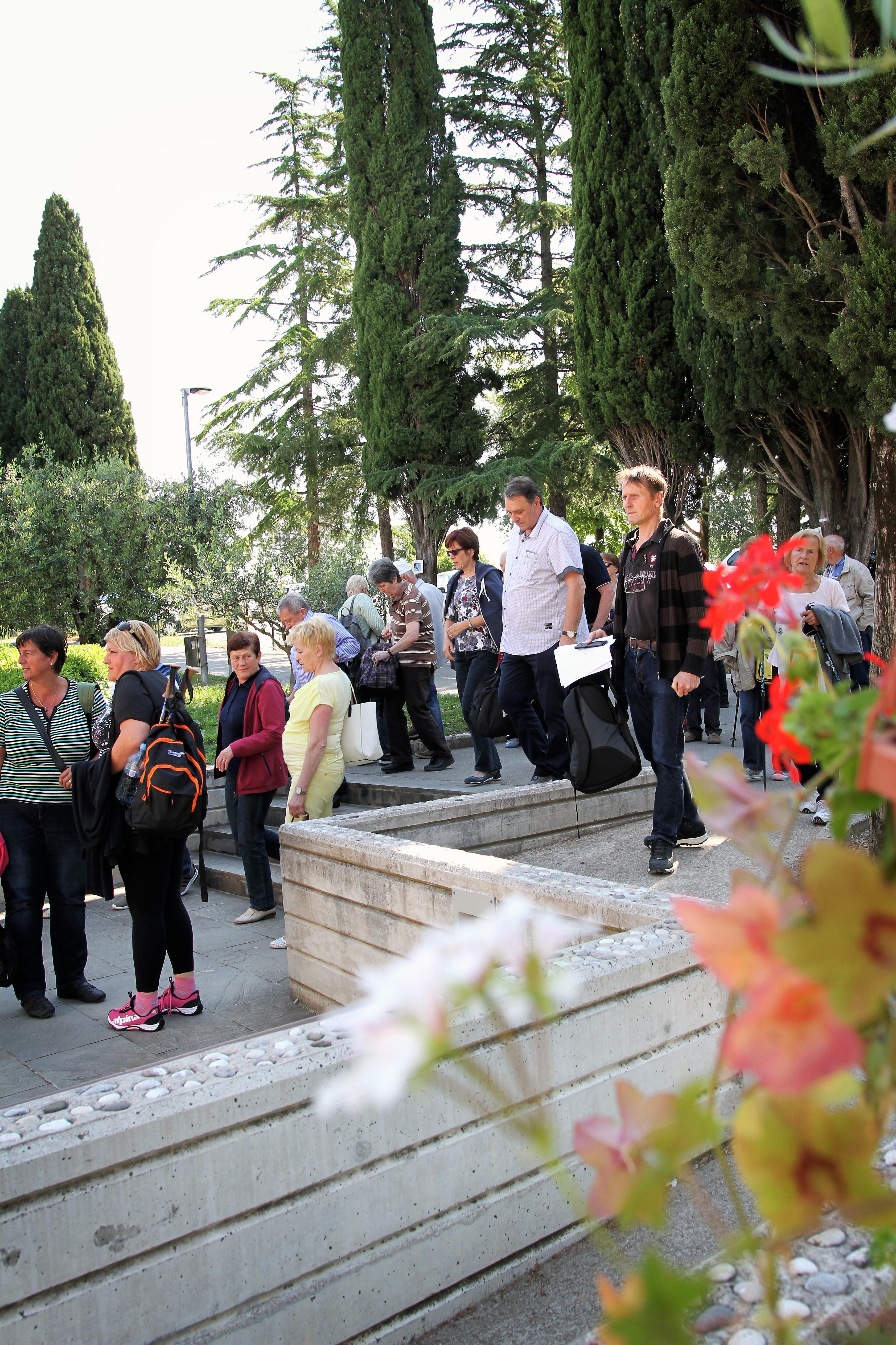 Srečanje članov društva Trepetlika na Debelem rtiču
