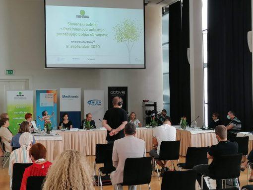 Slovenski bolniki s PB potrebujejo boljšo obravnavo – novinarska konferenca