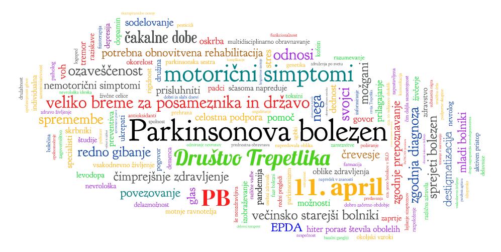 Vabilo na spletno delavnico v počastitev svetovnega dneva Parkinsonove bolezni